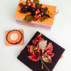 DIY matchbook covers designed by the Goddess for Autumn decor magazine
